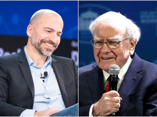 Uber CEO Dara Khosrowshahi says securing investment from Warren Buffett would fulfil a 'fanboy' career goal