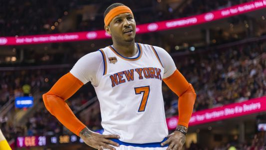 Carmelo Anthony would accept a trade to one of three teams, report says