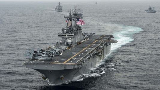 U.S. Warship 'May Have' Brought Down A Second Iranian Drone, General Says
