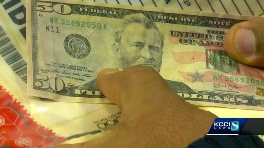 Man accused of using funny money in DSM metro arrested