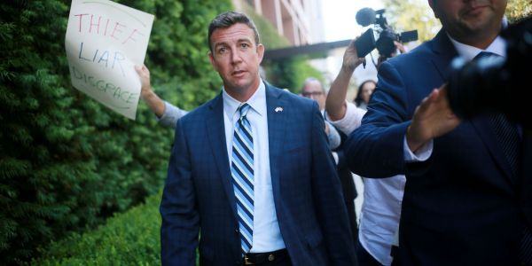 Republican congressman illegally used campaign money for his extramarital affairs, DOJ says