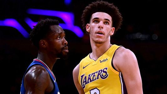 FOR FRI AM Lonzo, LaVar hear it from Patrick Beverley in Lakers' opener: Welcome to the NBA, Ballers