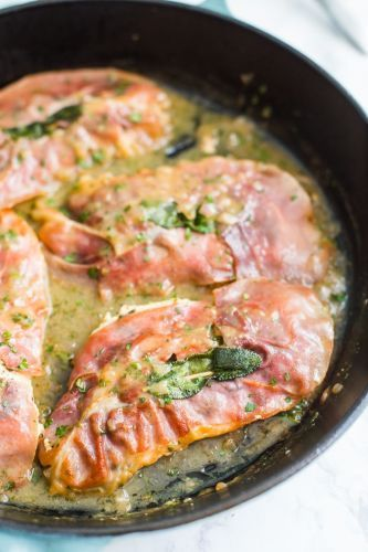 You Can Make This Easy Italian Chicken Saltimbocca Recipe in Just 30 Minutes