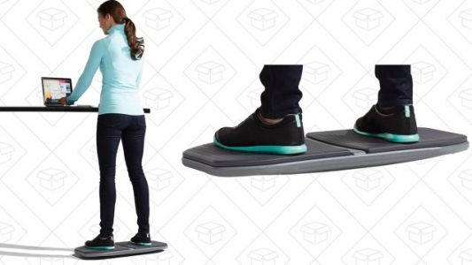 Level Up Your Standing Desk By Adding a Balance Board