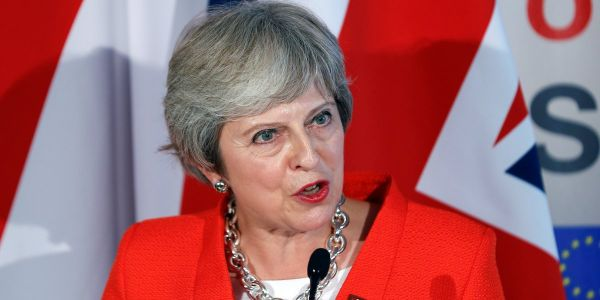 Theresa May warns that Brexit talks are 'at an impasse' and says UK must prepare for no deal