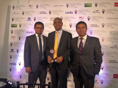 Cinnamon was the only Sri Lankan Brand awarded at the International Travel & Tourism Awards