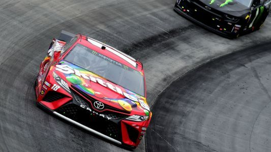 NASCAR results at Bristol: Kyle Busch beats brother in Food City 500