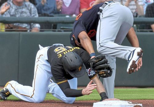 Spring training: JT Riddle shines in leadoff spot as Pirates lose to Tigers