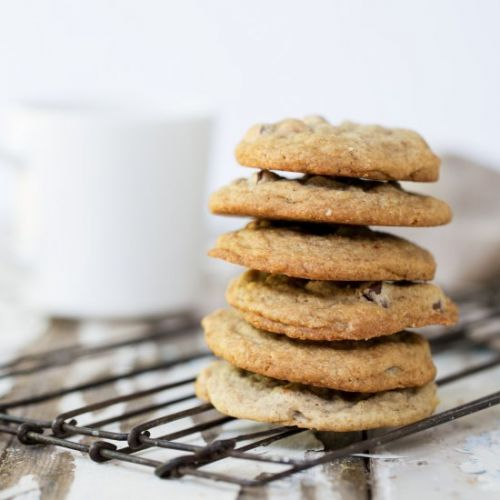 Mocha Almond Chip Cookies
