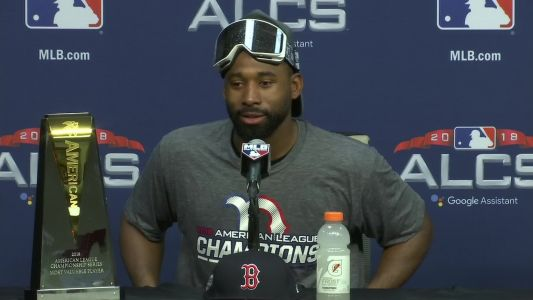 Jackie Bradley Jr. named ALCS MVP, marking MLB first