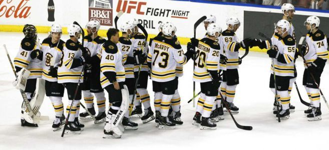 Bruins clinch playoff berth with win over Panthers