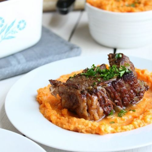Slow Cooker Bourbon Braised Beef
