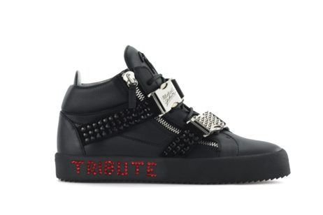 Giuseppe Zanotti Pays Tribute to the King of Pop