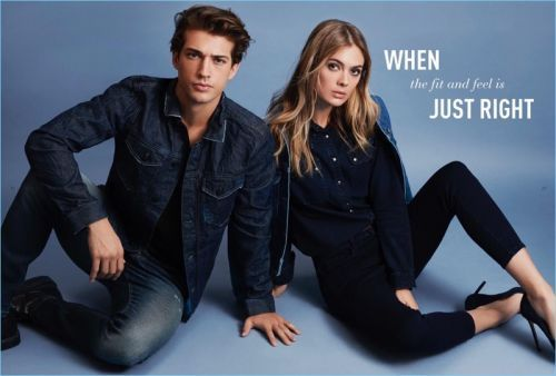 Denim on Denim: Ben Bowers & Evandro Soldati Model Mavi Fall '18 Lineup