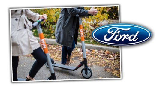 Ford, Trying Anything at This Point, Buys a Scooter Company