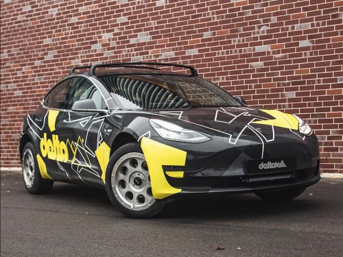 A conversion company turned a Tesla Model 3 into an off-roader ready for the Norwegian wilderness - see how they did it