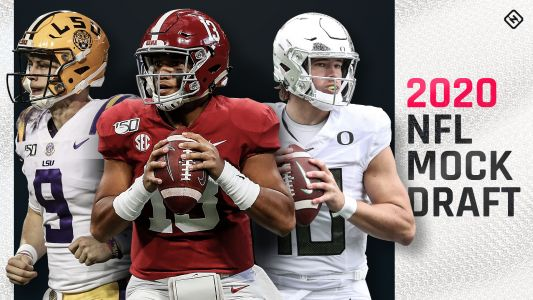 NFL mock draft 2020: Colts reload at QB; Tua slips; Eagles, Raiders, Bills go for playmakers