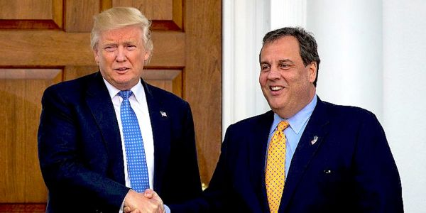 Trump is obsessed with punishing leakers in his administration. But he reportedly confessed to being an anonymous source about his 2018 meeting with Chris Christie