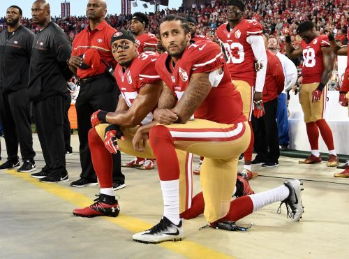 Eric Reid provides NFL reporters with a history lesson on 400 years of systemic oppression