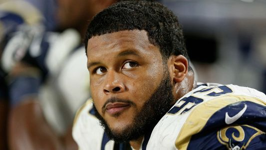 Aaron Donald once again absent at voluntary offseason workout