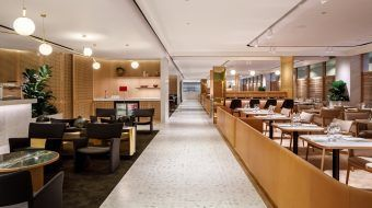 Qantas opens doors to brand new luxury first lounge in Singapore