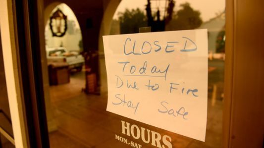 How The Thomas Fire Could Affect An Already Struggling Economy In Ventura