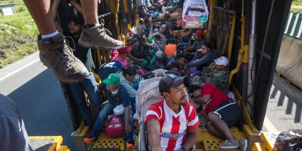 Before the midterms, Trump harped on migrant caravan. Since then, he has barely mentioned it