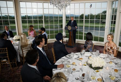 Step inside Trump's private golf club in Bedminster, New Jersey, where the president is spending his summer vacation