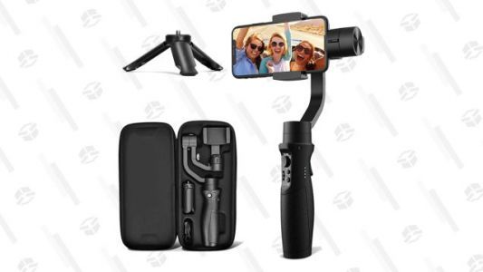 Hold Steady: This iPhone 12-Compatible Smartphone Gimbal Stabilizer Is 30% Off