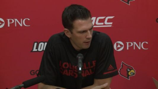 WATCH LIVE: UofL's David Padgett press conference