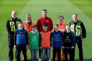 Network Rail and Aberdeen FC Team Up For Rail Safety