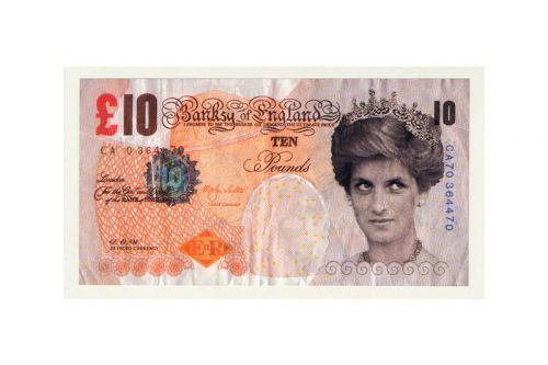 Banksy Donates a Fake £10 Banknote to the British Museum
