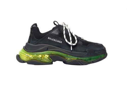 """Balenciaga Updates $995 USD Triple-S Clear Sole With """"Neon Yellow"""" Highlights"""