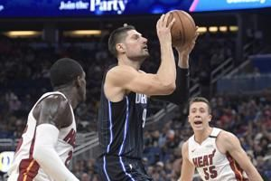 Magic hold Heat to 6 4th-quarter points in 105-85 victory