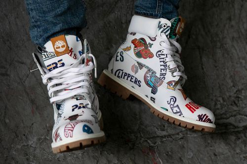 Timberland Joins Mitchell & Ness To Release NBA-Inspired 6-Inch Boots