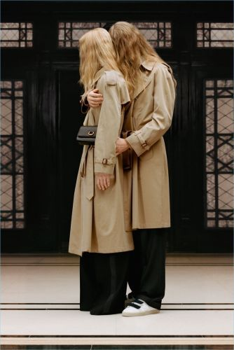 B Classic: Riccardo Tisci Approves New Direction for Burberry
