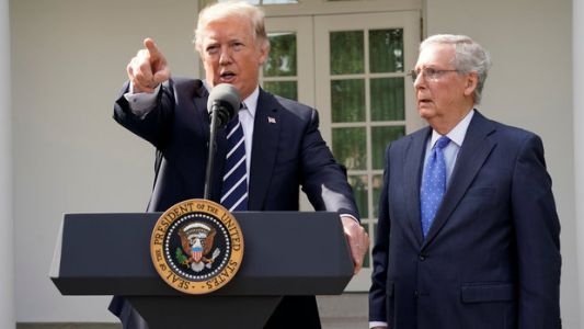 Trump Blames Congress For 'Not Getting The Job Done.' Americans Are Likelier To Blame Him