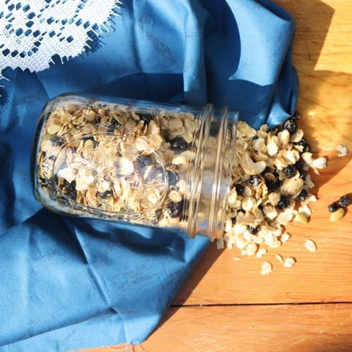 White Chocolate Blueberry Granola
