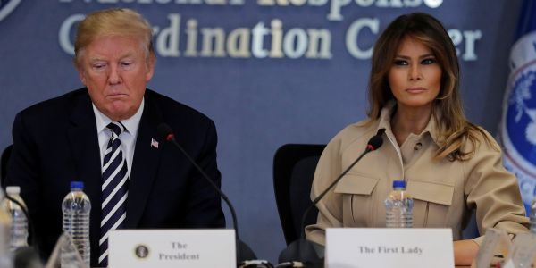 Trump reportedly warned Melania against launching an anti-cyberbullying campaign because of his own Twitter habits, but she insisted on doing it anyway