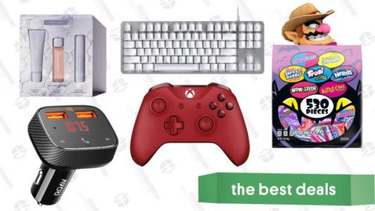 Monday's Best Deals: Fenty Beauty Friends & Family Sale, Xbox Wireless Controllers, Brach's Halloween Candy, Razer BlackWidow Lite Keyboard, and More