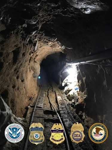 Almost $30 million in drugs seized in nearly half-mile-long tunnel linking US and Mexico