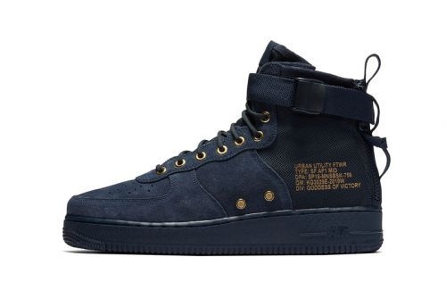 Nike SF-AF1 Mid Gets Ready for An Obsidian Suede Drop