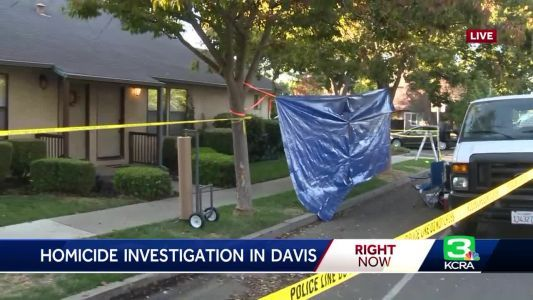 Man killed in Davis shooting, police say