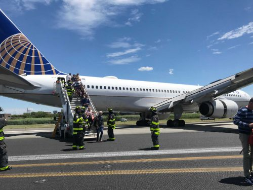 Newark runway mishap diverts European flights to Albany