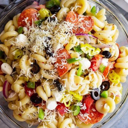Pepperoni Cold Pasta Salad