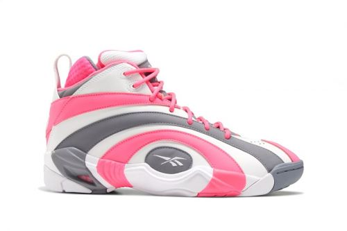 Shaquille O'Neal's Reebok's Shaqnosis Thinks Pink