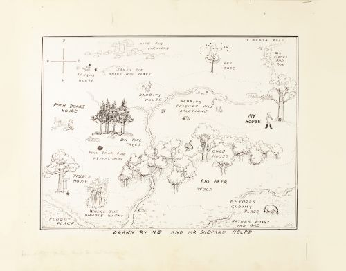 Original 'Winnie the Pooh' map breaks auction record