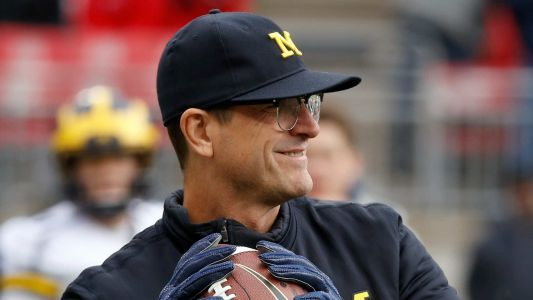 Jim Harbaugh says he doesn't anticipate any suspensions regarding sale of team-issued shoes