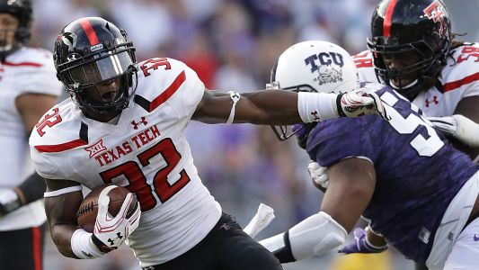 Texas Tech running back Da'Leon Ward arrested on theft charge