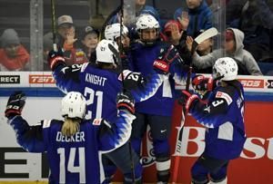 US women shut out Switzerland 8-0 in pool play at worlds